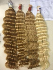 Wholesale Hair Accessories: Cheap Raw/ Bulk Hair with Curly Texture Wholesale Price