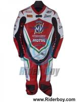 best Quality Motorcycle Motorbike Leather Racing Suit for Sale