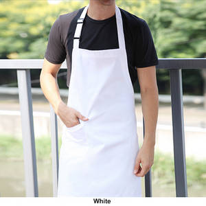 Wholesale officer uniform fabric: Cheap Cotton Waist Apron Polyester Bib Apron