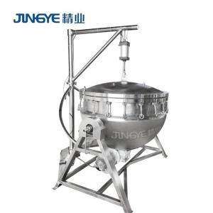 Wholesale steam boilers price: 300L Pressure Jacketed Cooking Kettle with Agitator/ Pressure Cooking Kettle