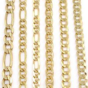 Wholesale Gold Jewelry: 22kt Solid Gold Mariner Link Chains Necklaces and Bracelets