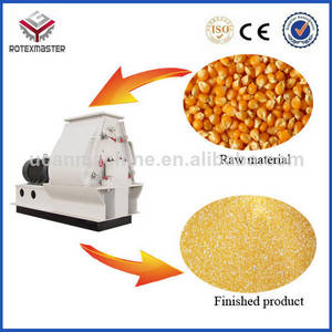 Wholesale flour mill: Small Production Machinery 1.5-2.5T/H Output Chicken/Duck/Sheep/Pig/Cattle Hammer Mills Corn Maize
