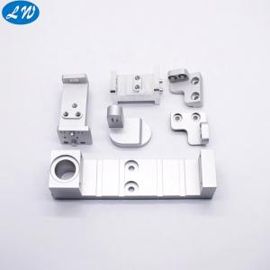 Wholesale precision machine parts: Anodized Precision Milling Service Custom CNC Machining Aluminum Blocks Parts