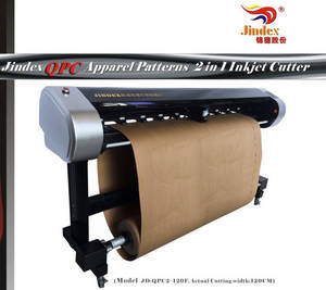 Wholesale queuing system: Jindex QPC Apparel Patterns 2 in 1 Inkjet Cutter