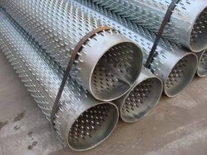 Wholesale bridge slotted well screen: Stainless Steel Bridge Slot Screen Used in Water Well Screen