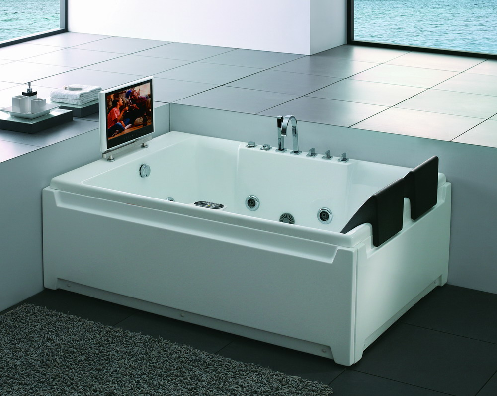 Sell Square Bathtub with 17 inch TV ( SR525)(id:2896716) - EC21