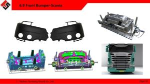 Wholesale plastic bumper mould: Plastic Automotive Front Bumper Injection Mould