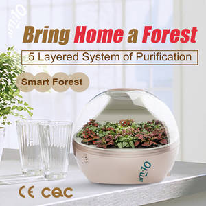 Wholesale Home Appliances: Desktop Smart Forest Air Purifier 8700 with HEPA Filter, Activated Carbon and Negative Ion Generator