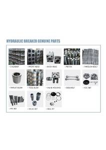 Wholesale spare part: Spare Parts for Hydarualic Breaker