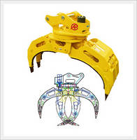 Attachments - Rotating Type Wood Grapple