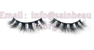 Wholesale electrical power line fitting: Mink Strip Lashes DL3D46 100% 3D Mink Lashes Custom Box LogoFree Shipping Mink Eyelash