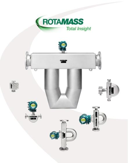 Made in Japan with Very Competitive Price of Coriolis Flow Meters - ROTAMASS Total Insight