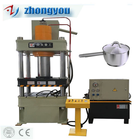 Aluminum and Stainless Steel Pot Cookware Making Machine