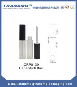 Wholesale Cosmetic Tubes: High Quality Factory Price 6ml Empty Lip Gloss Tube