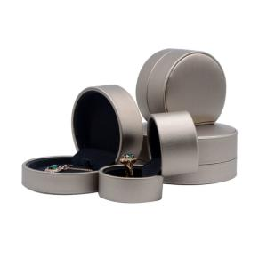 Wholesale ring box jewelry: Jewelry Case with Ring Holder High Qualith Velvet Jewelry Packaging Box