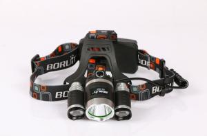 Wholesale led headlamp: Wholesale High Power Crossbow Hunting Rechargeable 6000 Lumen LED Headlamp/Brightest 2*18650 Battery