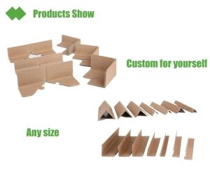 Wholesale paper boxes: Custom Paper Corner Protector for Carton Box
