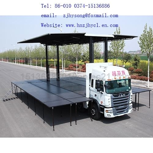 9.6m LED Mobile  Stage Truck