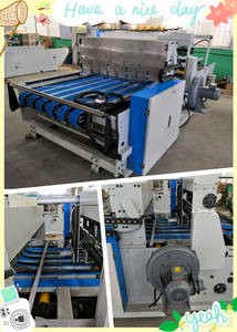 Wholesale feed pump 20mm: QZ1227A Full Automatic Down Folding Corrugated Cardboard Folder Gluer Packing Machinery