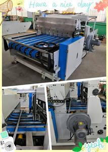 Wholesale packing machinery: QZ1227A Full Automatic Down Folding Corrugated Cardboard Folder Gluer Packing Machinery