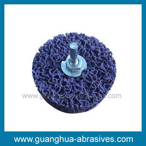 Wholesale paint: Paint Removal Purple Cleaning Disc with Shaft