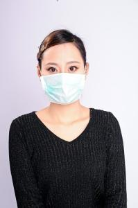 Wholesale dust proof mask: Protective Non-woven Elastic Face Mask for Food / Medical Single Use