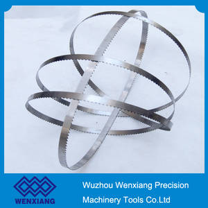 Wholesale band saw blades: Carton Steel Band Saw Blade Cutting Frozen Meats