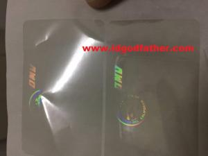 Wholesale fedex: NV, TX, CA, FL Hologram Overlay Sticker for USA State ID