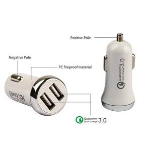 Wholesale car care center: IBD316  QC3.0 Mini Car Charger