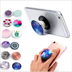 Wholesale cell phone: Cell Phone Stand Car Mobile Phone Holder Pop Sockets