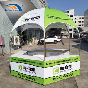 Wholesale tents for events: 300D Hexagonal Booth Kiosk Tent for Outdoors Event