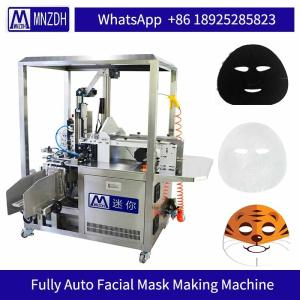 Wholesale machine manufacturer: Packaging Machine Cosmetic Facial Mask Manufacturing Machine