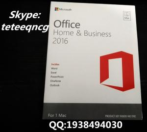 Wholesale office 2016 hb mac: Office 2016 HB for Mac Pack DVD New