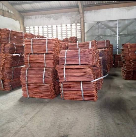 Sell  COPPER CATHODES 99.99%