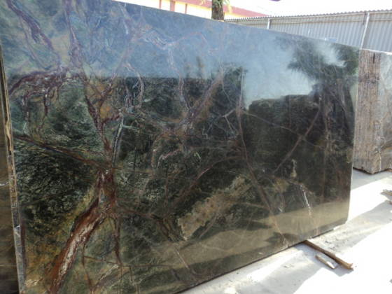 Rain Forest Green Marble : Sell rain forest green marble slabs id  from
