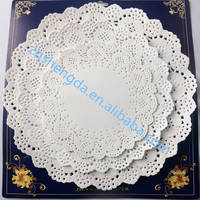 Colored Lace Doily for Decoration