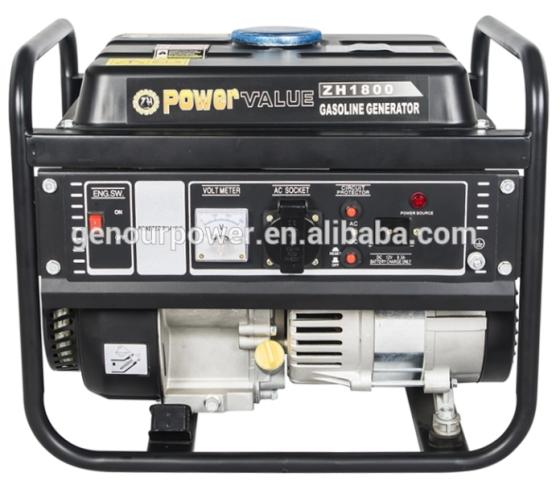 ZH1500 Petrol Generators 850w Dual Voltage 110v 220v for Home Use Recoil Start