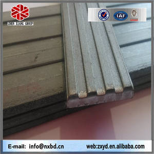 Wholesale Stairs: Hot Rolled Black Alloy Strip Nosing
