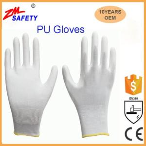 Wholesale pu work gloves: China Manufacturer PU Gloves Used for Laboratory Working