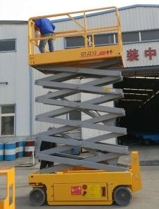 Wholesale scissor working platform: 6m Mini Hydraulic Self-propelled Scissor Lifting Platform Agent