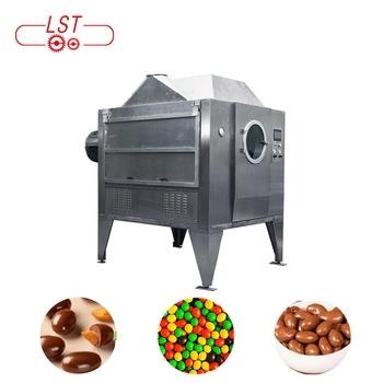 Rotary Drum Chocolate/Sugar Coating Machine