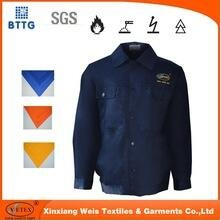 EN11612 Flame Retardant Satin Welder Jacket for Workmen