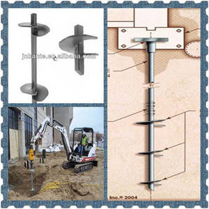 Wholesale spoil water: Spiral Ground Helical Anchors