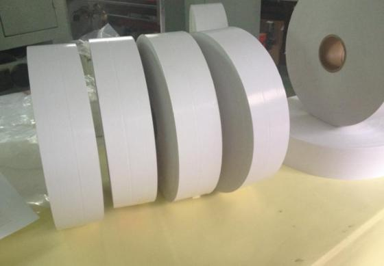 Sell gloss white PE adhesive paper