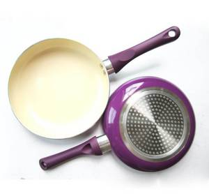 Wholesale frypan: Ceramic Marble Frypan