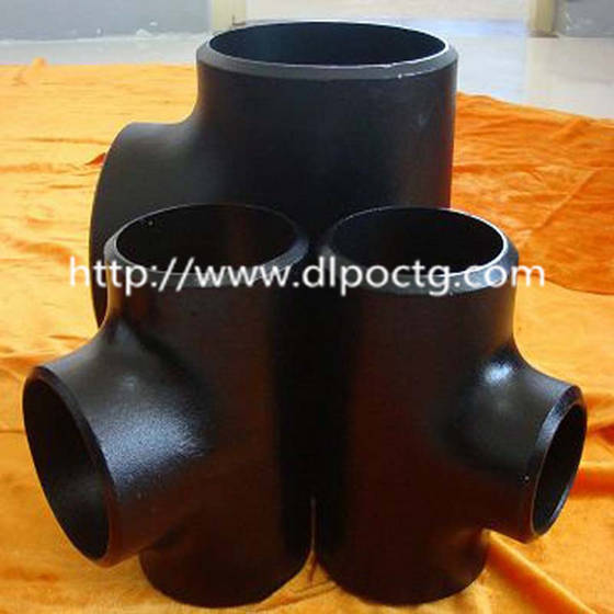 Sell ASME standard Alloy steel ASTM A234 WP5 Reducing Tee