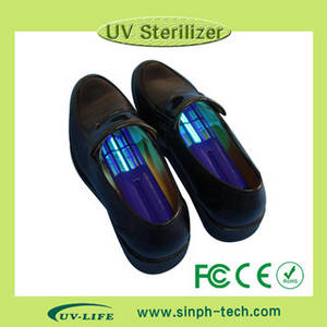 Wholesale 253.7nm wavelength uv light: UV Lamp 253.7nm Ozone Remove Bad Smell Kill 99.99% Bacteria UV Shoe Sanitizer