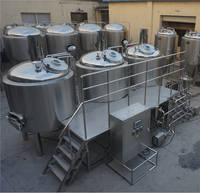 Beer Boiling Tank/Stainless Steel Mash Tun/Brewhouse System