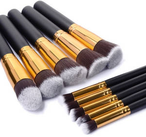 Wholesale cosmetic brushes: Best Selling Products High Quality Private Label Cosmetic Makeup Brushes 10 PCS Professional Makeup