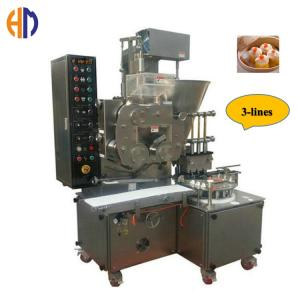 Wholesale steel: SUS304 Stainless Three Line Steel High Capacity Automatic Siomai Making Machine